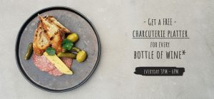 Charcuterie Platter Promo Happy Hour Drink Auckland