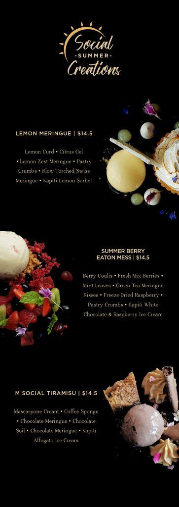 Social Summer Creations - Kapiti Ice Cream Dessert in Auckland