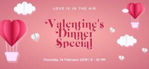 Valentines Dinner Special 2019 Auckland