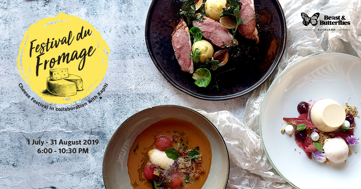 Festival du Fromage 2019 Auckland Dinner Special Deal