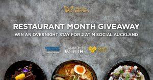 Restaurant Month 2019 Auckland